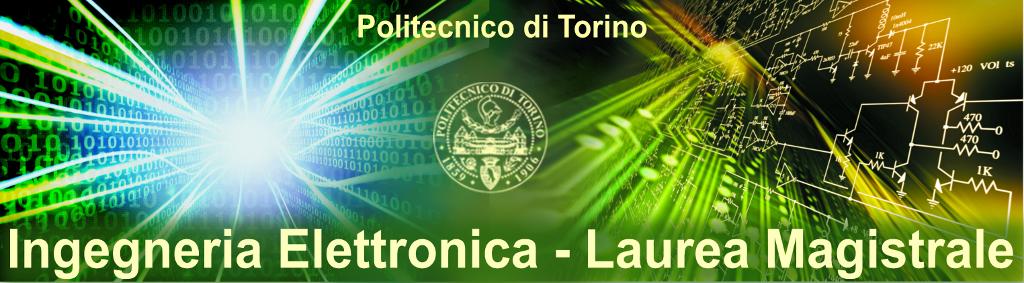 Banner laurea magistrale Ingegneria Elettronica